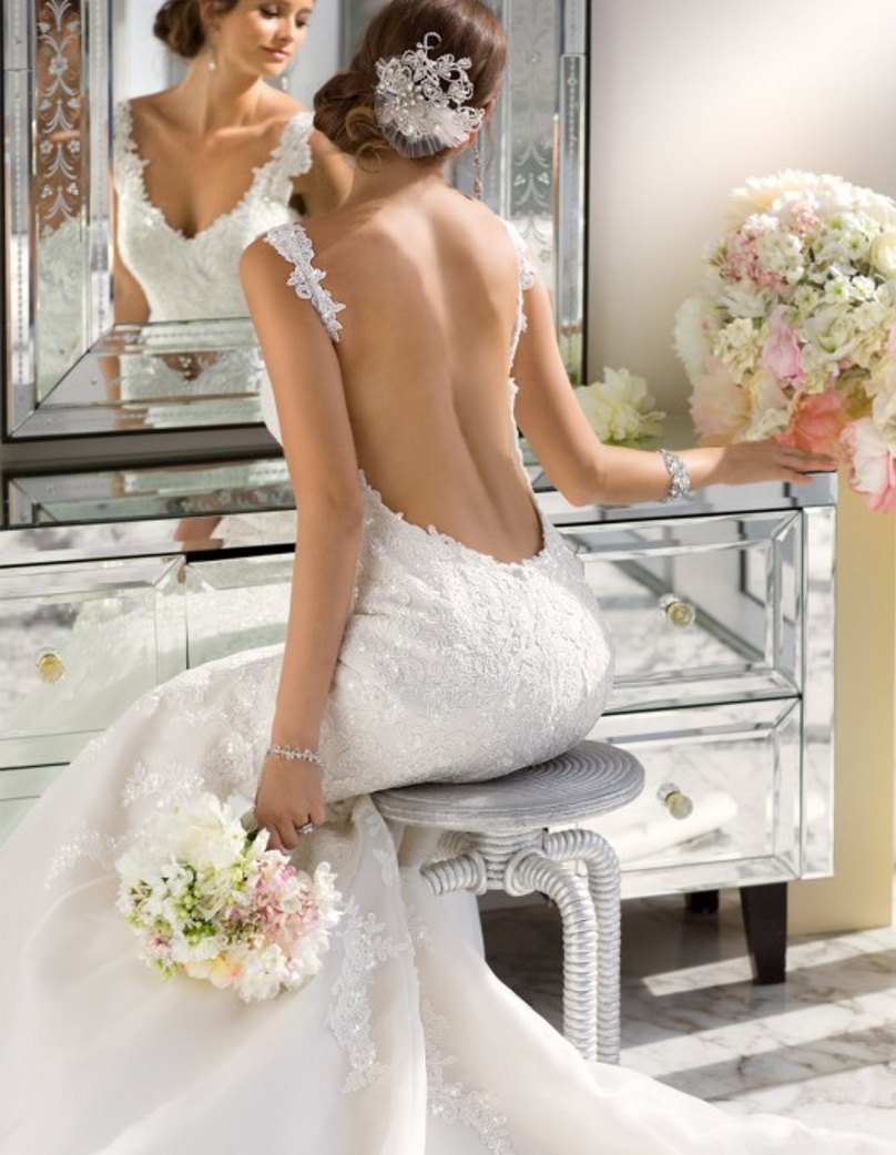 Sexy Backless 2018 Brazil Style Romantic Princess bridal Gowns Cheap Made In China mother of the bride dresses