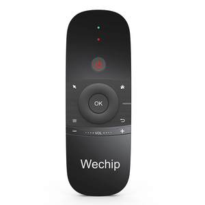 Image 4 - Wechip W1 Russian Or English Version 2.4GHz Wireless Keyboard Mini Fly Air Mouse for Smart Android TV Box mini PC HTPC Projector
