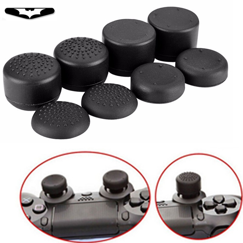 8pcs For Grips Thumbstick Controller Extra Enhancements Cover Caps For Sony PlayStation 4 Slim Pro For PS3 For Xbox 360