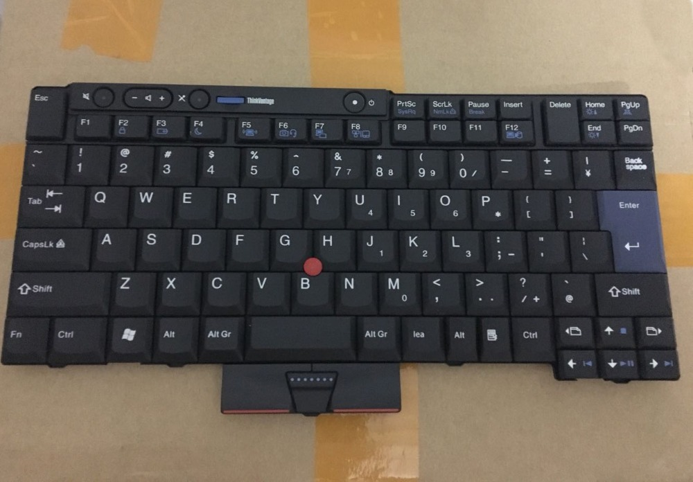 Original EU keyboard for lenovo Thinkpad T510 T520 W510 W520 T400S t410s t410 t420 t420s x220 X220T new original for lenovo thinkpad t400s t410s lcd cable 44c9908 50 4fy01 012