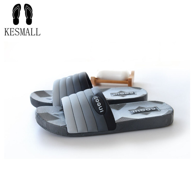 KESMALL Brand Silk Bow Slippers Slides Women Summer Beach Flip Flops Shoes Woman No Fur Slippers Imitate Rihanna Sandals WS98
