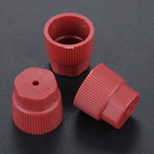 Protector AC Charging Port cap Shield 10pcs Set Service Cover 13mm+16mm Side Red+Blue Plastic + Rubber