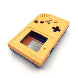 Image 3 - Geel en blauw Game Vervanging Case Plastic Shell Cover voor Nintendo GB voor Gameboy Klassieke Console Case behuizing
