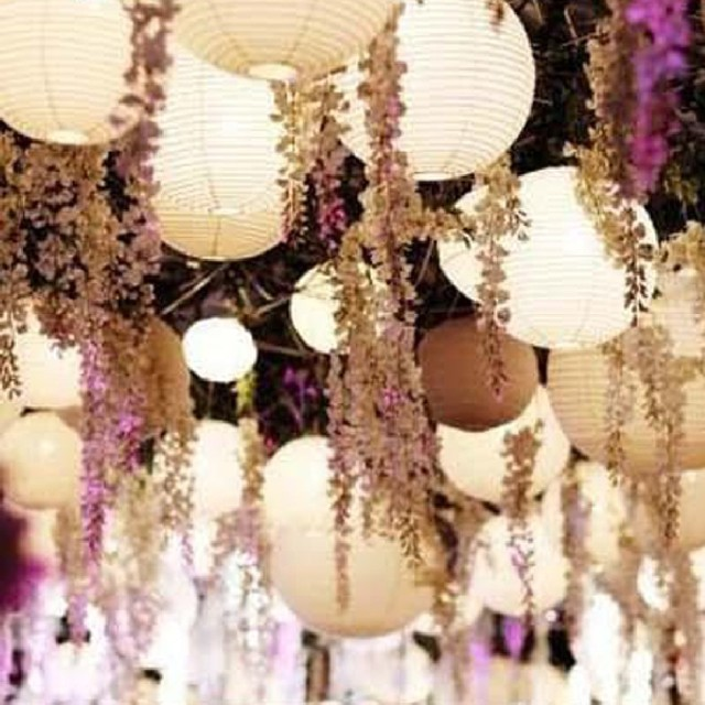 "High Popular 1pcs 16"" 40cm Traditional Chinese Paper Lanterns For Wedding Party Pendant Lights Lanterns"