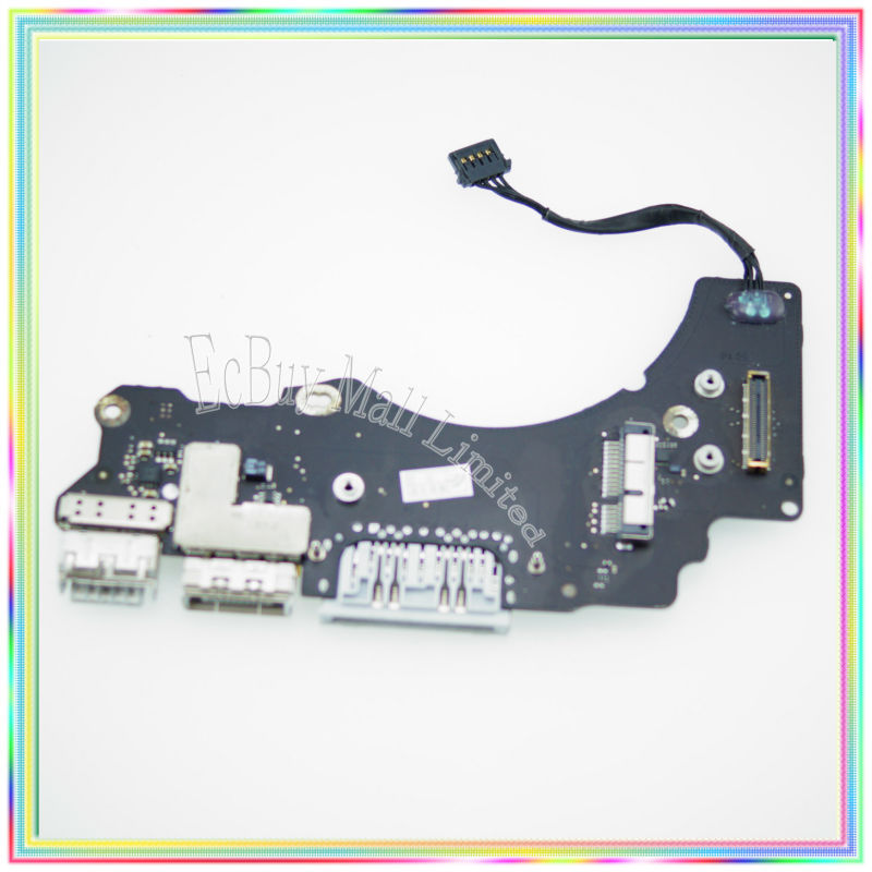 Tested For MacBook Retina 13.3 A1502 Dc In Board I/O Board Poewr Board 2013-14 Year i o board usb sd card reader board 820 3071 a 661 6535 for macbook pro retina 15 a1398 emc 2673 mid 2012 early 2013