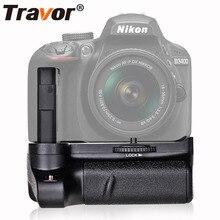 Travor جديد وصول قبضة بطارية حامل لنيكون D3400 DSLR كاميرا العمل مع بطارية واحدة أو اثنين EN EL14