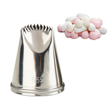 #655 New Piping Tips Cake Decorations Pastry Nozzle Icing Fondant Tool Cookie Mold Cream