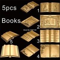5 STÜCKE Buch 3d modell STL erleichterung für cnc STL format Religiöse 3d modell für cnc stl erleichterung artcam vectric aspire-in Holzfräsemaschinen aus Werkzeug bei