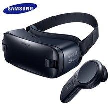 Samsung óculos vr 100% original 4.0, óculos 3d vr caixa 3d para samsung galaxy s8 s9 s8 + note7 note smartphones edge s6 5 s7, s7