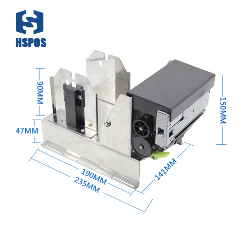 Super High Quality 3 Inch Thermal Receipt Printer With Auto Cutter Kiosk Printer With USB Serial Parallel Interface