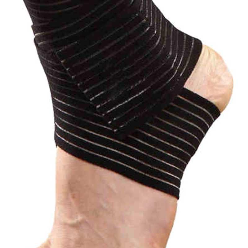 2019 新弾性手首足首肘膝ブレースジムスポーツガードサポートスポーツ安全 30*7 センチメートル