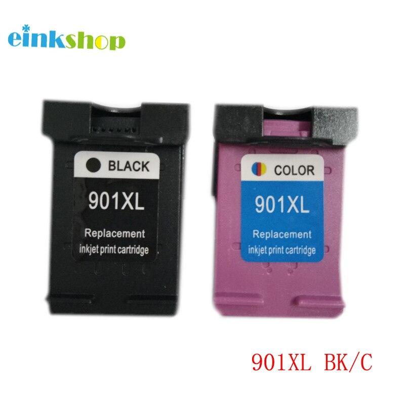 2 Stücke Remanufactured 901 901xl tintenpatrone Für HP Officejet 4500 J4500 J4580...