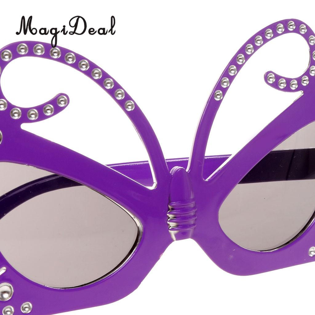 MagiDeal Butterfly Party Glasses Fancy Dress Costume Novelty ...