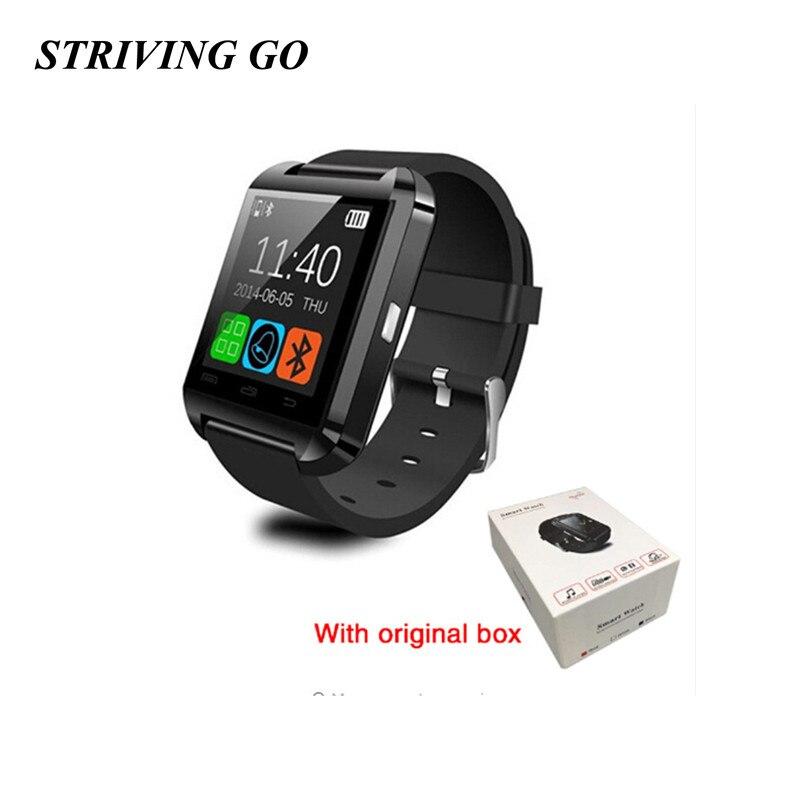 2020 hommes Bluetooth U8 montre intelligente avec caméra Bluetooth montre-bracelet pour Android IOS téléphone Smartwatch PK DZ09 A1 Q18 M26 GT08 T8