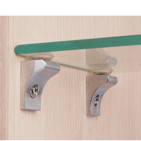 10Pcs Right Angle 90 Degree Glass Shelf Suction Cup Fixing Support Clip Bracket Clip Glass Clamps Door Hardware