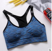 Hot sell Fitness Sports Bra Women Running Yoga Bra Push Up Sport Bra Top Athletic Vest Yoga Top Padded Brassiere Sport Top bras
