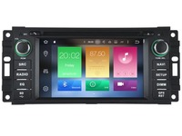 Android CAR Audio DVD Player FOR JEEP COMPASS COMMANDER LIBERTY PATRIOT Gps Multimedia Head Device Unit