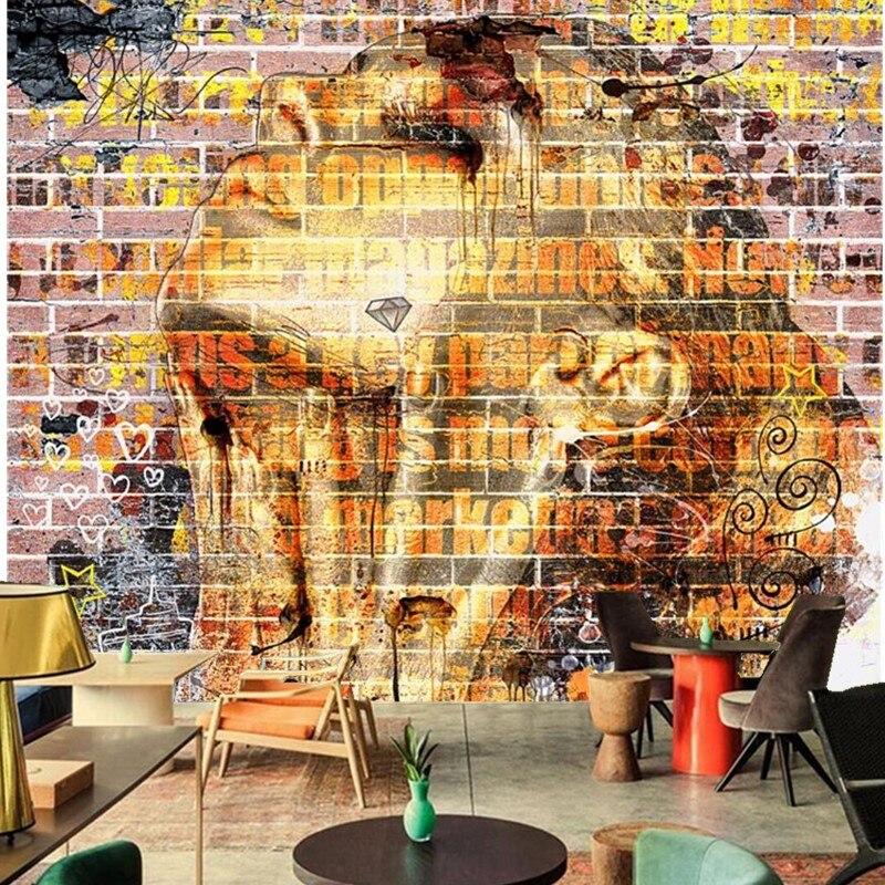 Online buy wholesale mural graffiti from china mural for Mural pared personalizado