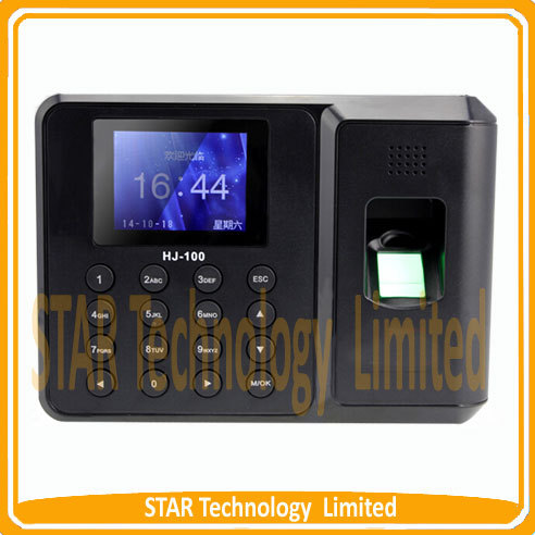 ФОТО Free shipping Biometric Fingerprint Time Clock Recorder Attendance Employee Digital Electronic Standalone English Punch Reader