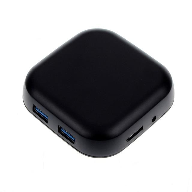 Красивые Gitf Новый 2016 Черный USB 3.0 Compact Flash Нескольких Устройство Чтения Карт памяти CF Адаптер SD TF Карта Оптовая цена Jan09