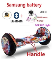 10 Electric scooter Samsung battery hoverboard patinete electrico e scooter giroskuter Adult electric skateboard hover board