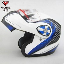 YOHE undrape face motorcycle helmet YH-936 open face Moto Racing helmets made of ABS visor is for PC material