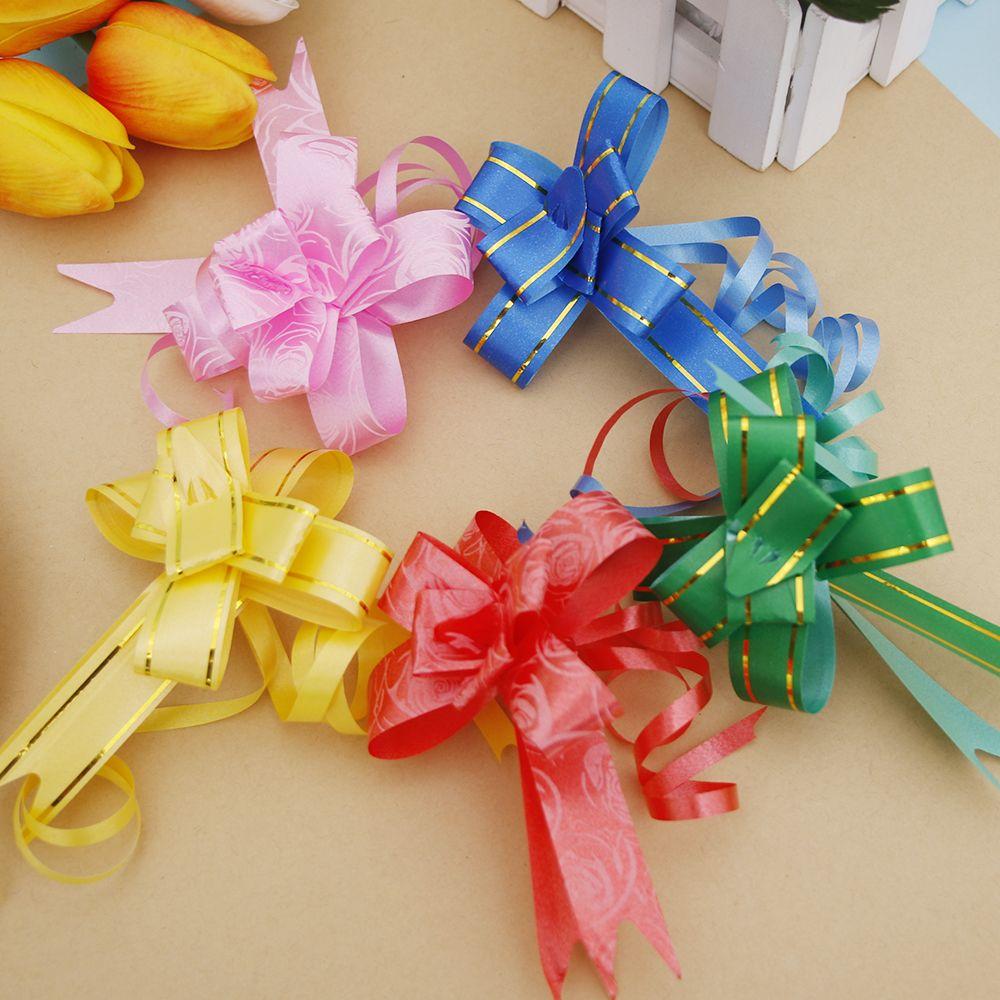 Decoration De Paquets Cadeaux noël papier cadeau noeuds set 16 pack cadeau ruban