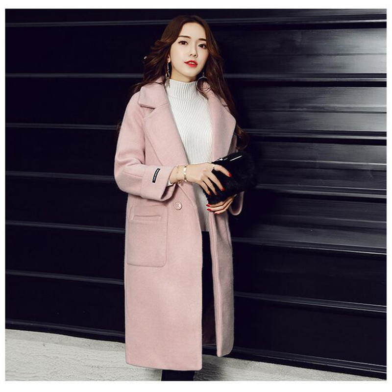 New Women Warm Winter Coat Jackets Thick Long Oversized Brand High Quality Fashion Casual Long Elegant Coat For Lady A3583