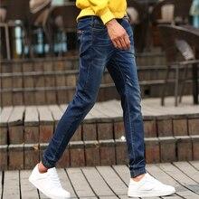Four seasons На джинсы 2016 Стрейч Джинсы pantalones вакеро дизайнер осень мужчин бренда джинсы мужчин Известных Брендов Джинсы 963 4