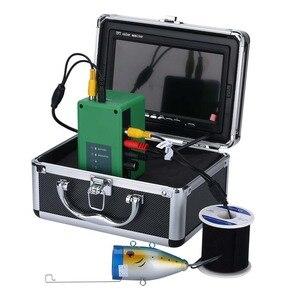 Image 4 - 7 インチモニター 15 メートル 1000TVL 魚ファインダー水中釣りビデオカメラ 30 個の led 防水魚群探知機 CMOS センサー