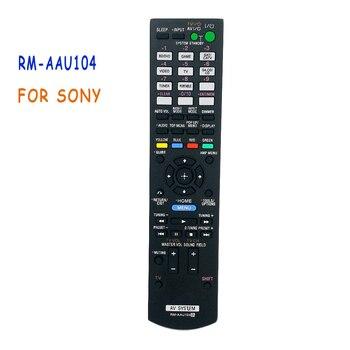 New Replacement Remote Control RM-AAU104 For SONY RMAAU104 Multi AV Receiver RM-AAU073,STRDH520 STR-DH520,STR-DN610,STR-DH710 remote control fit for sony ht ss370hp rm aau117 str dh740 rm aau189 str k3500sw ht ct350 ht ct350hp ht ct150hp a v av receiver