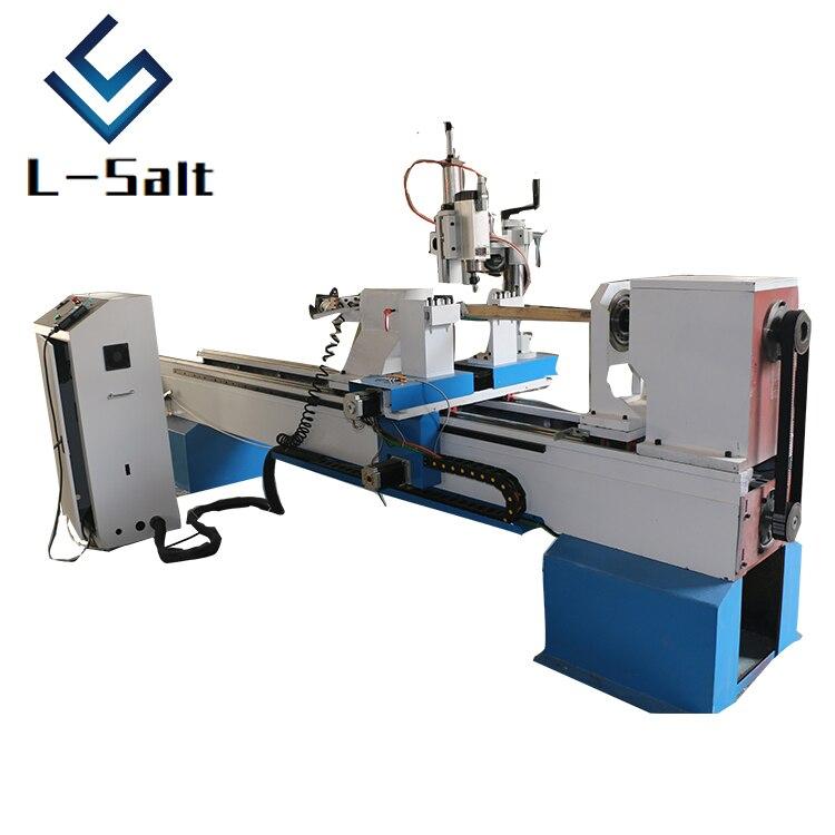 lathe machine CNC wood lathe with single spindle