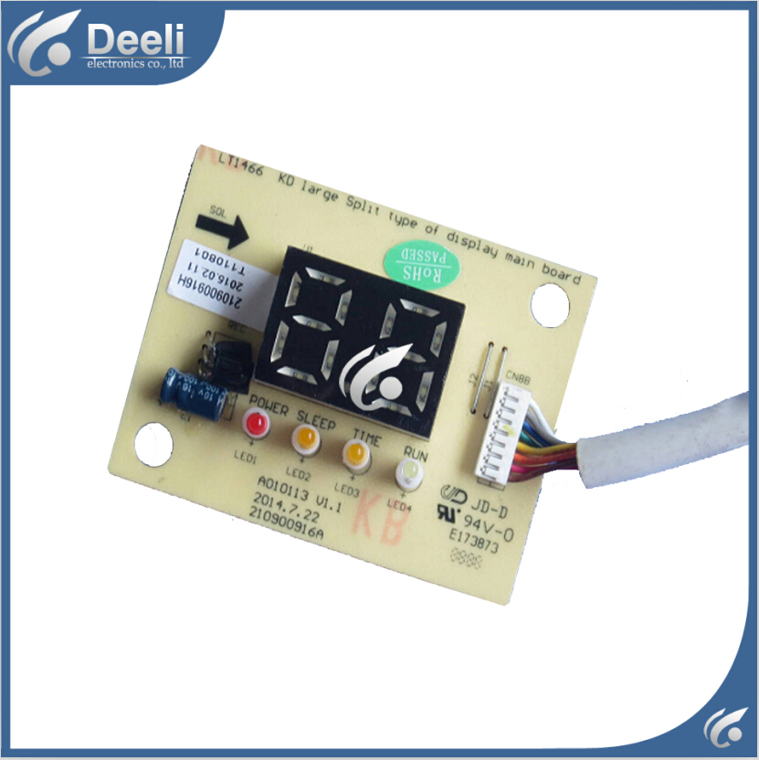 95% new good working for TCL Air conditioning display board remote control receiver board plate A010113 V1.1 E173873