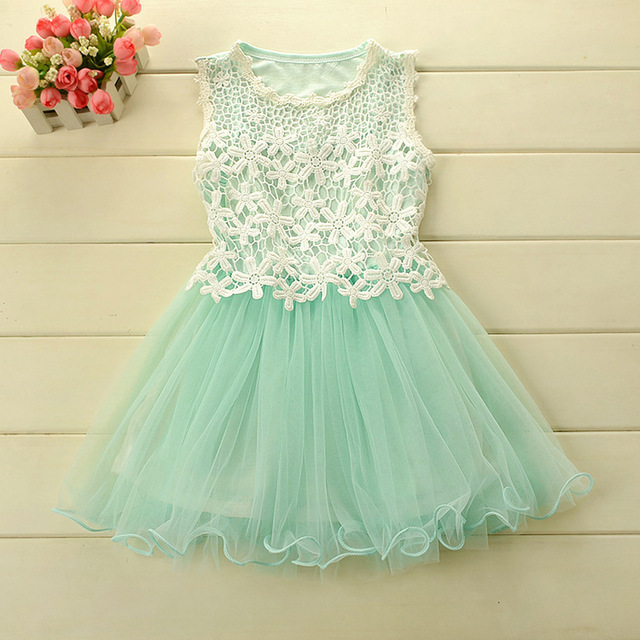 Lace kid dress