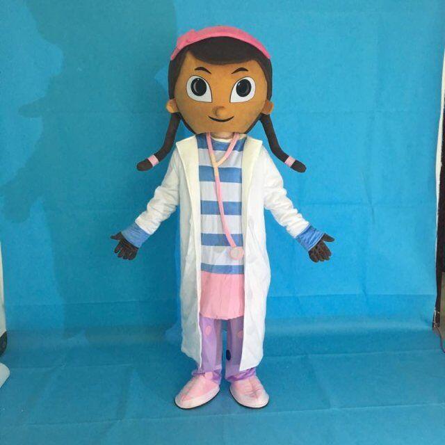 Nouveau Doc peluche mascotte Costume fête médecins robe livraison gratuite taille adulte