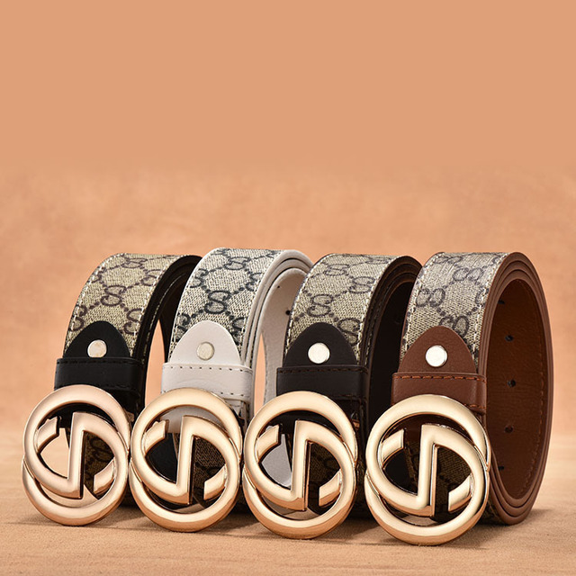 8c5552c37a0 PYBETA New Arrival Luxury Brand Men Designer g g Belts Women High Quality  Casual PU Leather Doubl G Buckle Belt Bands