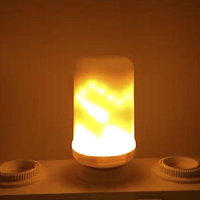 LED Flame Effect Light Bulb