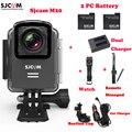 M20 SJCAM Wifi 30 М Водонепроницаемая Камера Спорта Sj Cam DV + 2 Батареи + Двойной Зарядное Устройство + Remote Watch + пульт дистанционного Монопод + Автомобильное Зарядное Устройство + Присоске