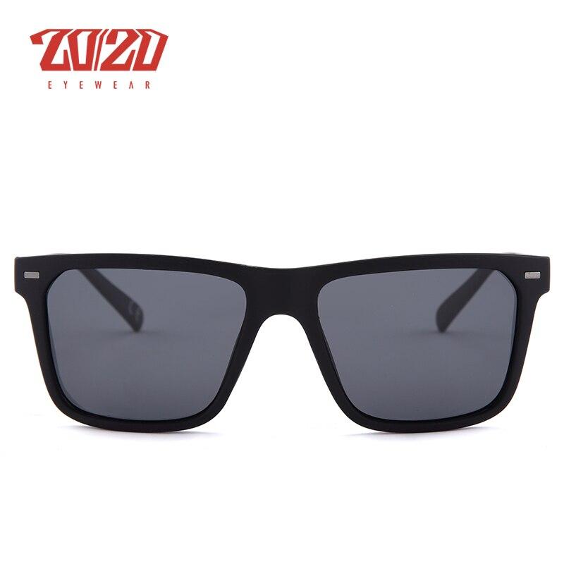 20/20 Marca Retro Hombres Gafas de sol Metal Lattice Frame Man - Accesorios para la ropa - foto 6