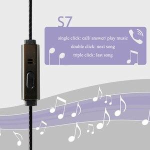 Image 4 - Auriculares de grafeno con micrófono, cascos planos de sonido suave de 150 ohm, alta resistencia, Cable HiFi OFC de 3,5mm