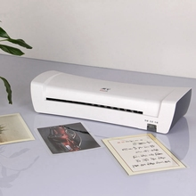 2017 Professional Thermal Office Hot And Cold Laminator Machine For A4 Document Photo Packaging Plastic Film Roll Laminator
