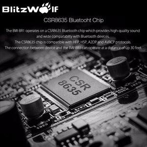Image 4 - Blitzwolf 4.1 sem fio bluetooth receptor alto falante fone de ouvido adaptador 3.5mm áudio estéreo música receptor bluetooth