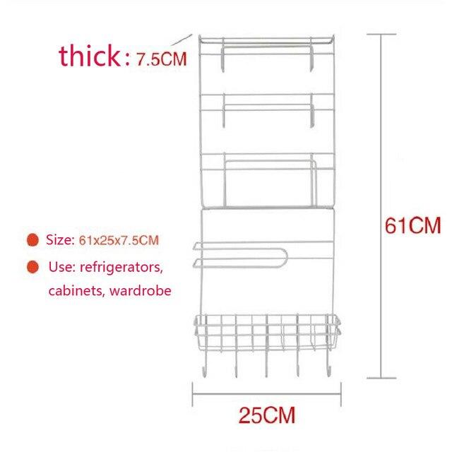 Rack de almacenamiento de accesorios de Cocina Cocina Estante ...