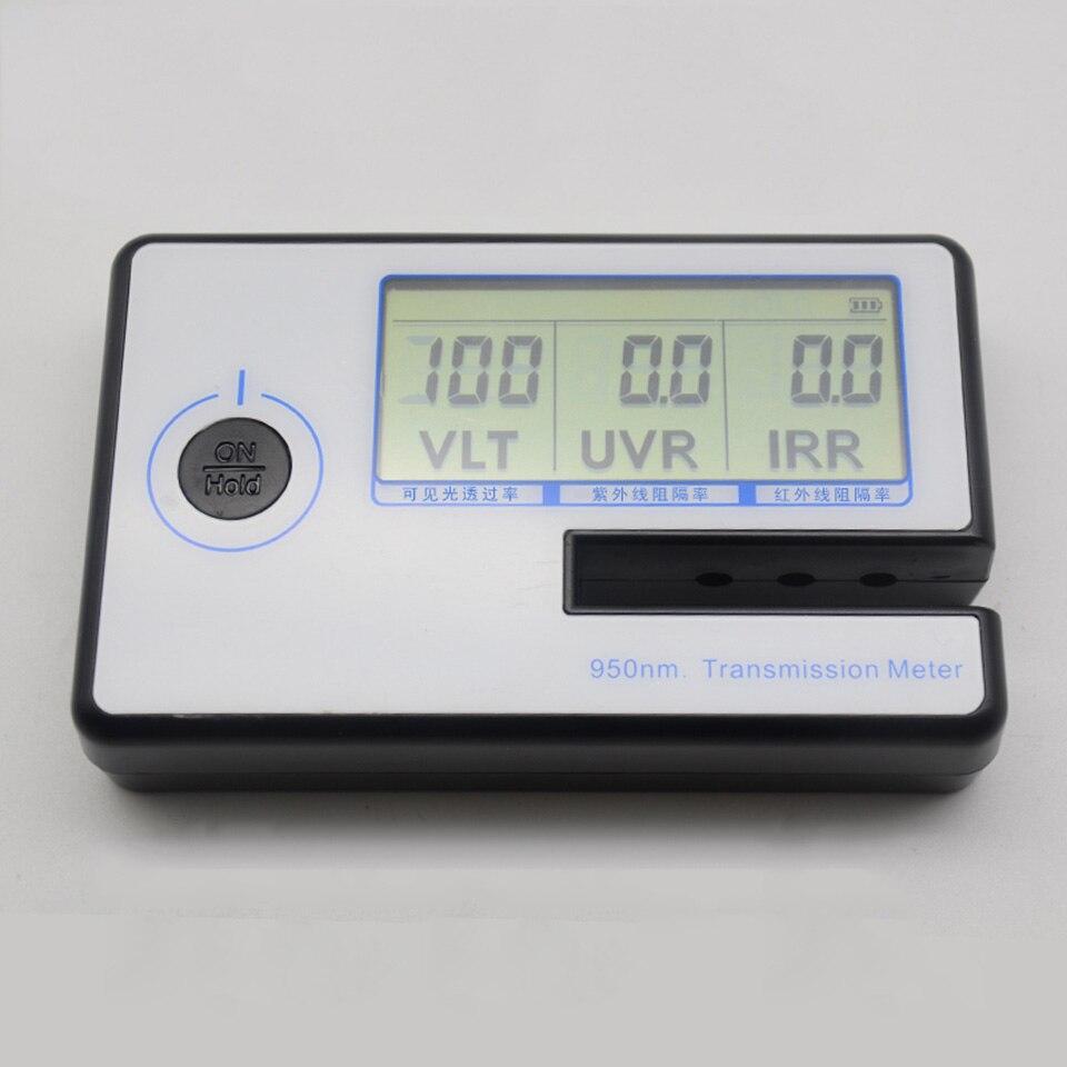 Mètre portatif de Transmittance de lumière de teinte de fenêtre d'appareil de contrôle de mètre de Transmission de Film solaire JN-950