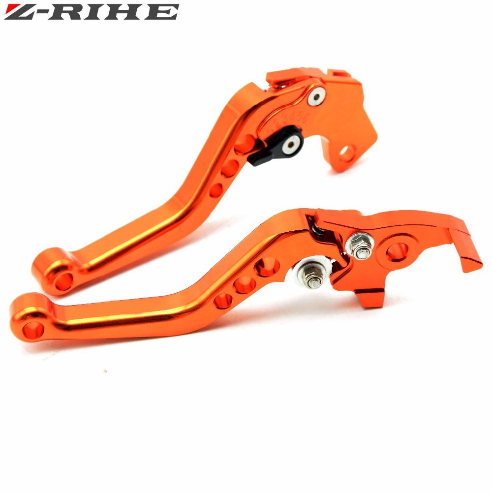 Motorcycle Brake Levers adjustable Folding Bike extensible CNC Clutch Levers For KTM 690 SMC SMC-R Duke Duke R 2012-2013 billet alu folding adjustable brake clutch levers for motoguzzi griso 850 breva 1100 norge 1200 06 2013 07 08 1200 sport stelvio