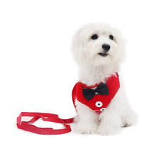 2019 New Arrival Pet Dog Harness Chest With Small Clothes and to Walk Magic Traction Rope Puppy Collar