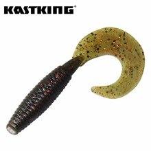 KastKing 20Pcs 6cm 1.93g Soft Bait Lake Fishing Tackle Wobbler Jigging Fishing Lure Silicone Bait Soft Worm Shrimp