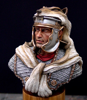 Roman soldiers wolf cape