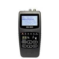 Heißer Verkauf Hohe Leistung Digitale DVB-S FTA C & KU Satellite Finder Meter Hohe Genauigkeit 2 1 zoll LCD-Display Elektrische Instrument