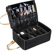 New Arrival Large Multi Story Professional Make Up Package Bag Pattern Semi Permanent Tool Box Big
